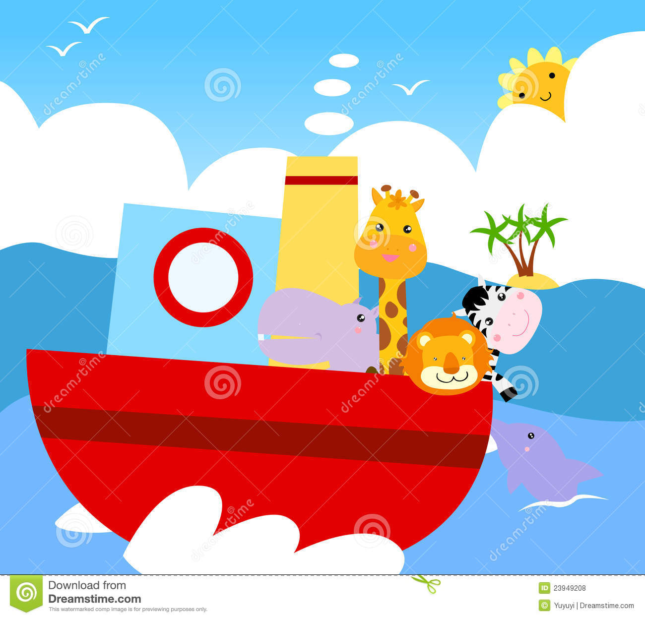 Animal Ship Royalty Free Stock Photos Image 23949208