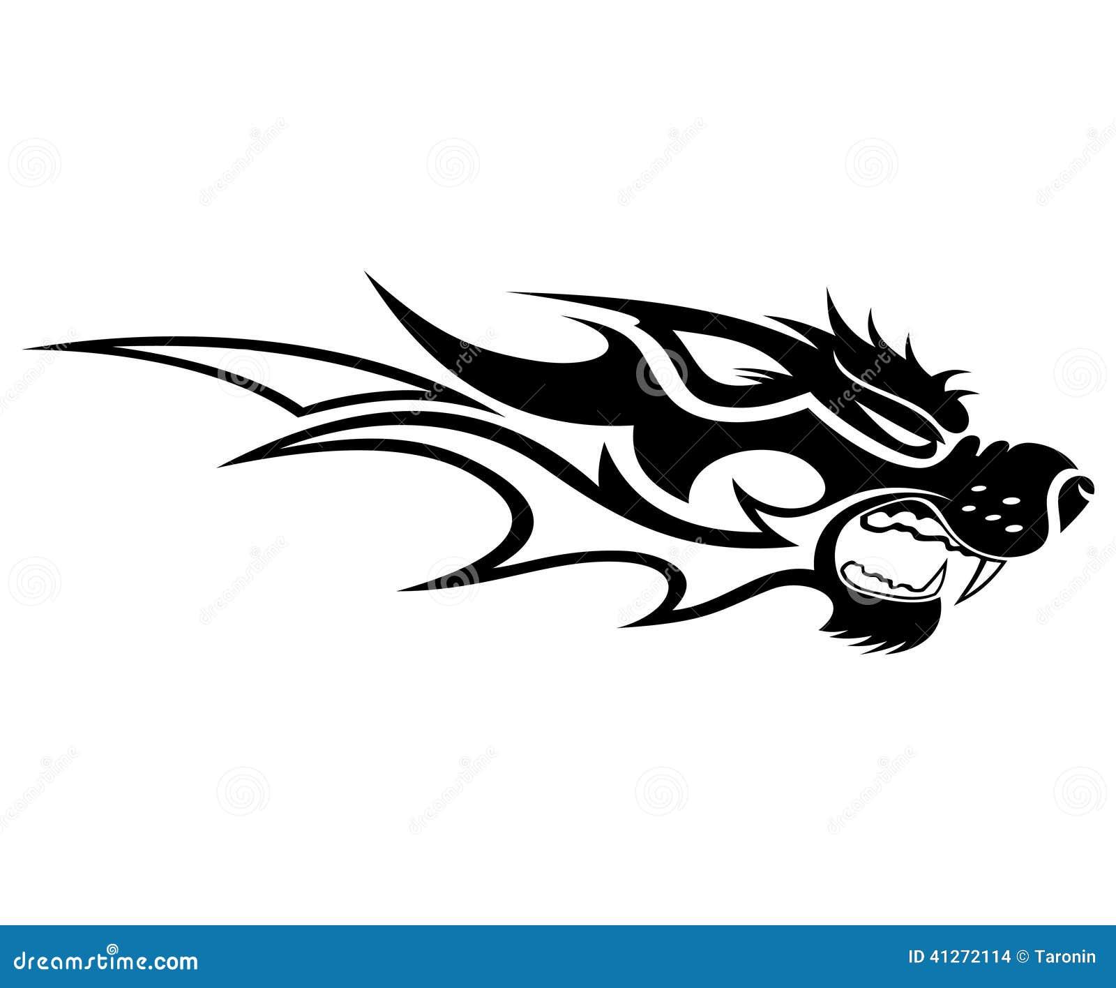 Animal Tattoo Stock Vector Illustration Of Black Pattern 41272114