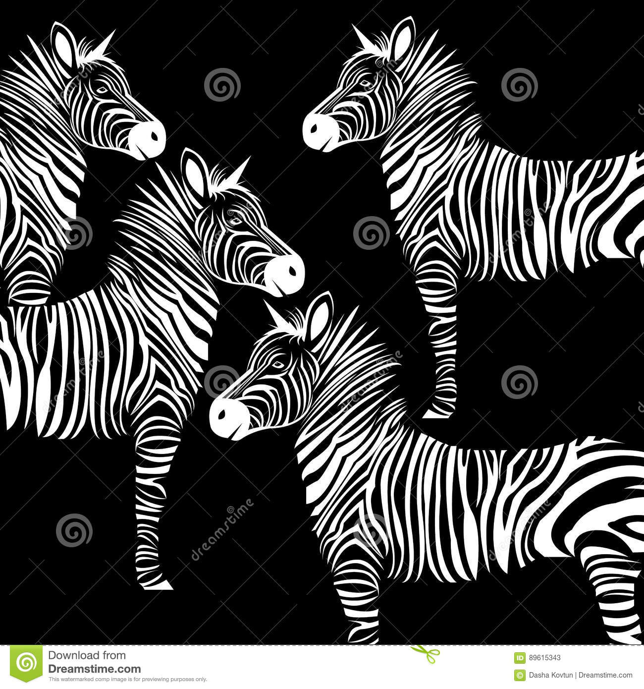 zebra print frame stock photography cartoondealercom