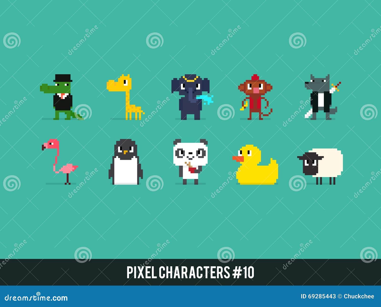 Animales del pixel
