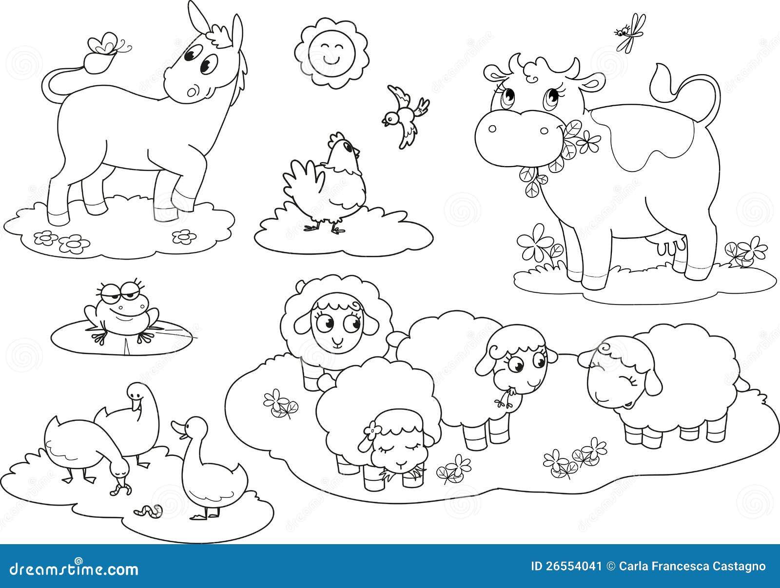 Animali da allevamento di coloritura 2