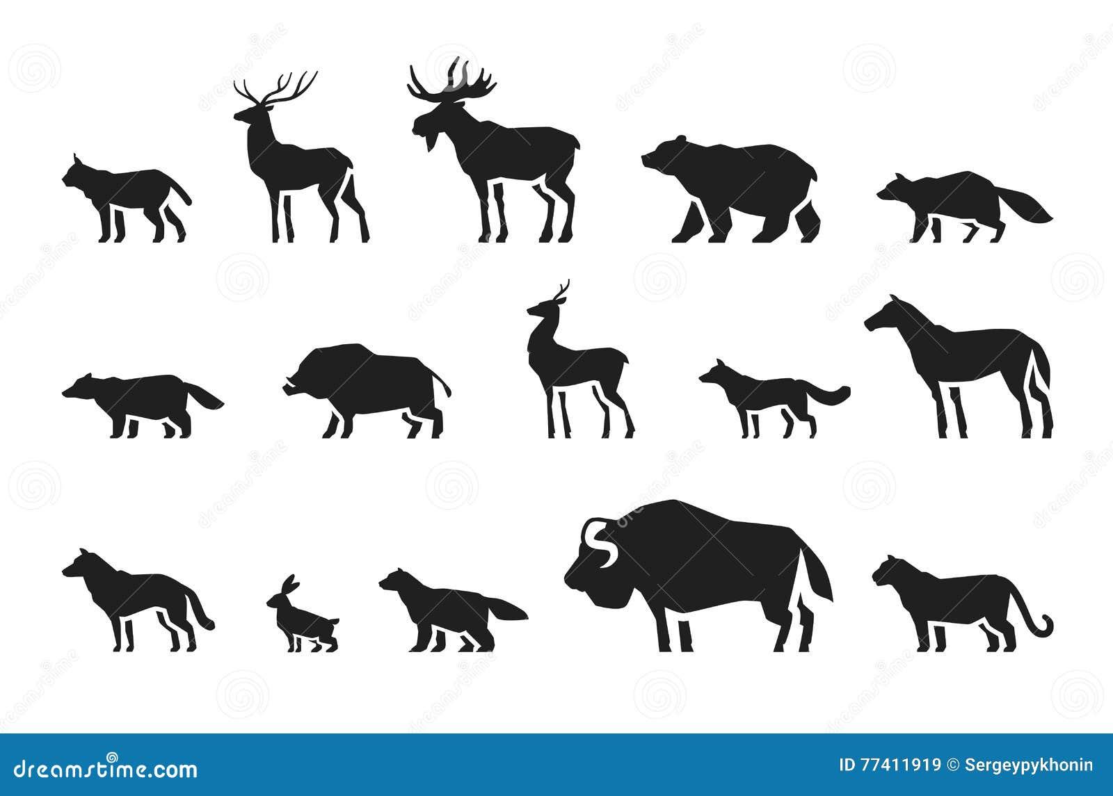 animal footprints vector vector illustration
