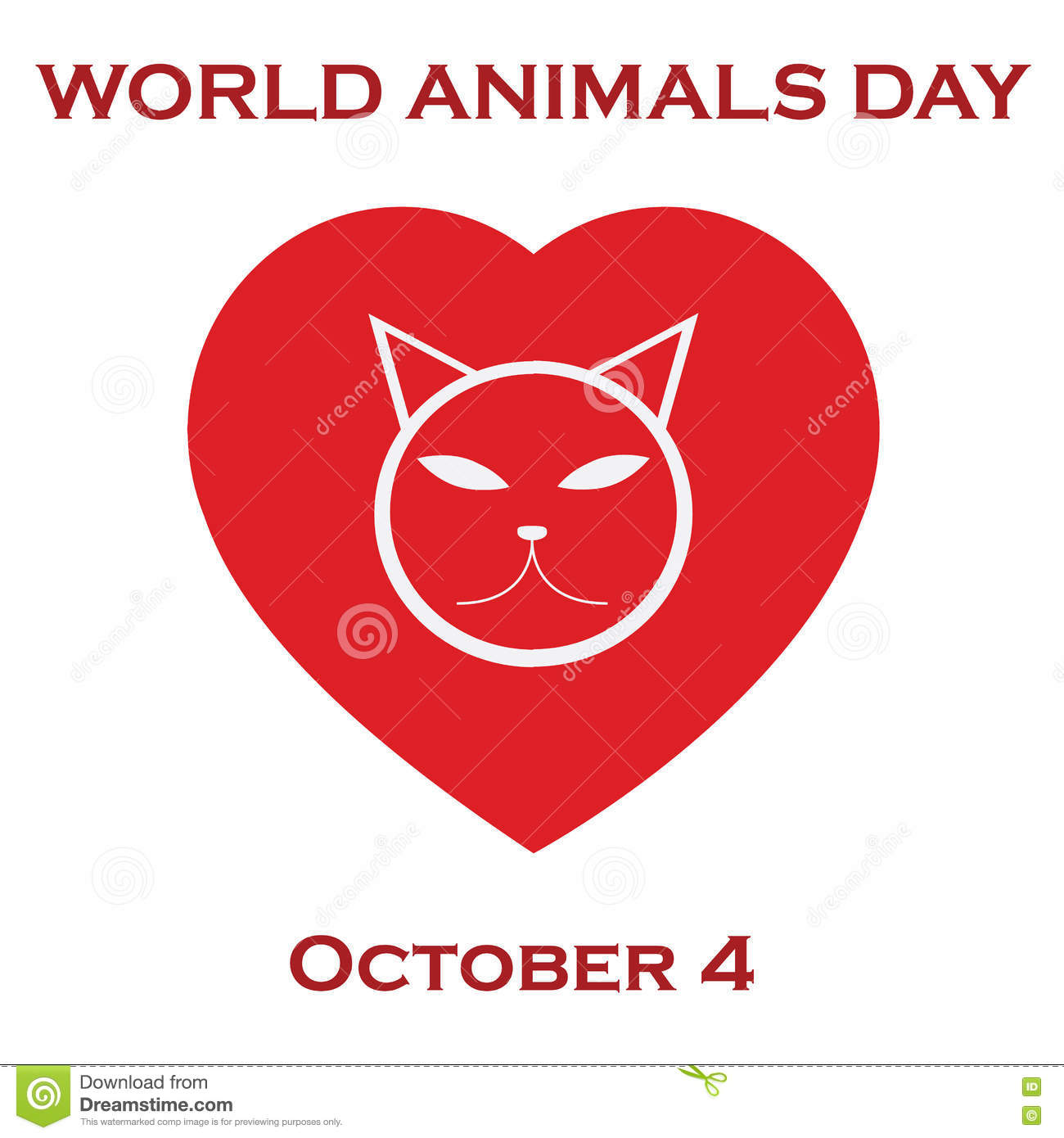 Animals on the planet, animal shelter. World animal`s day.