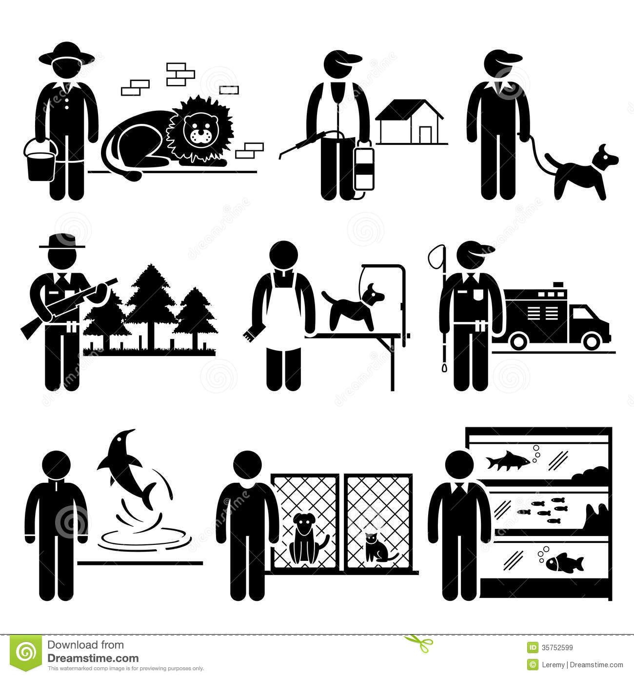 animals related jobs occupations careers royalty stock images animals related jobs occupations careers