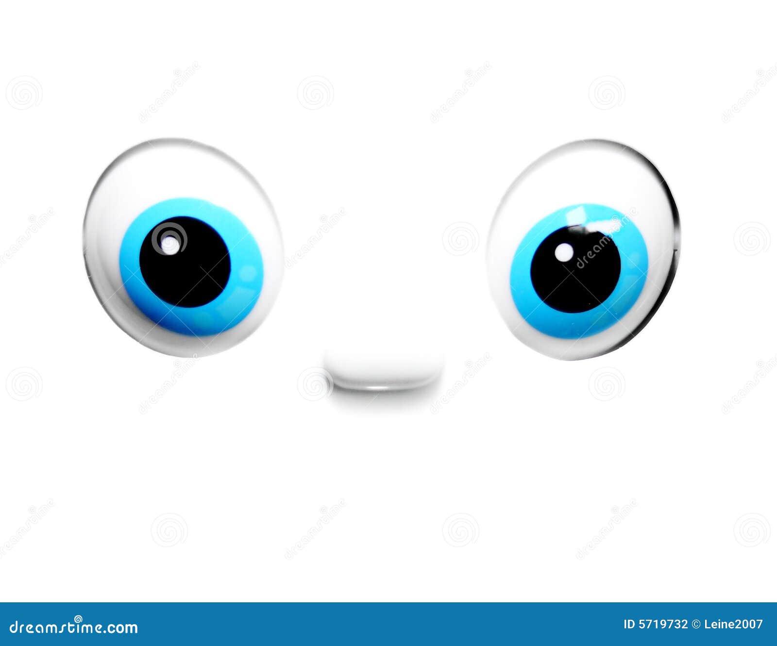 Animated Blue Eyes Stock Photography - Image: 5719732