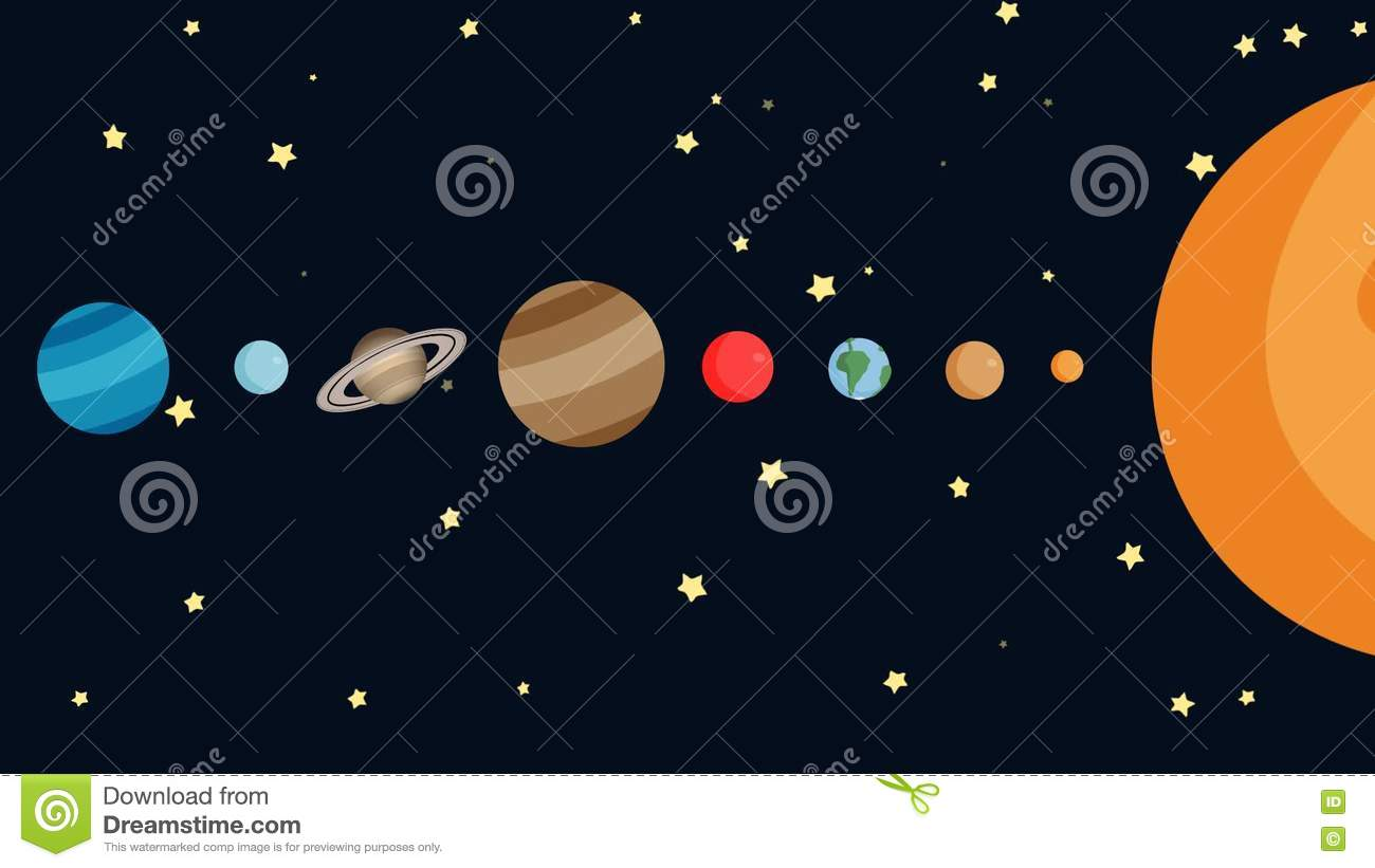 gallery solar system in order - photo #16