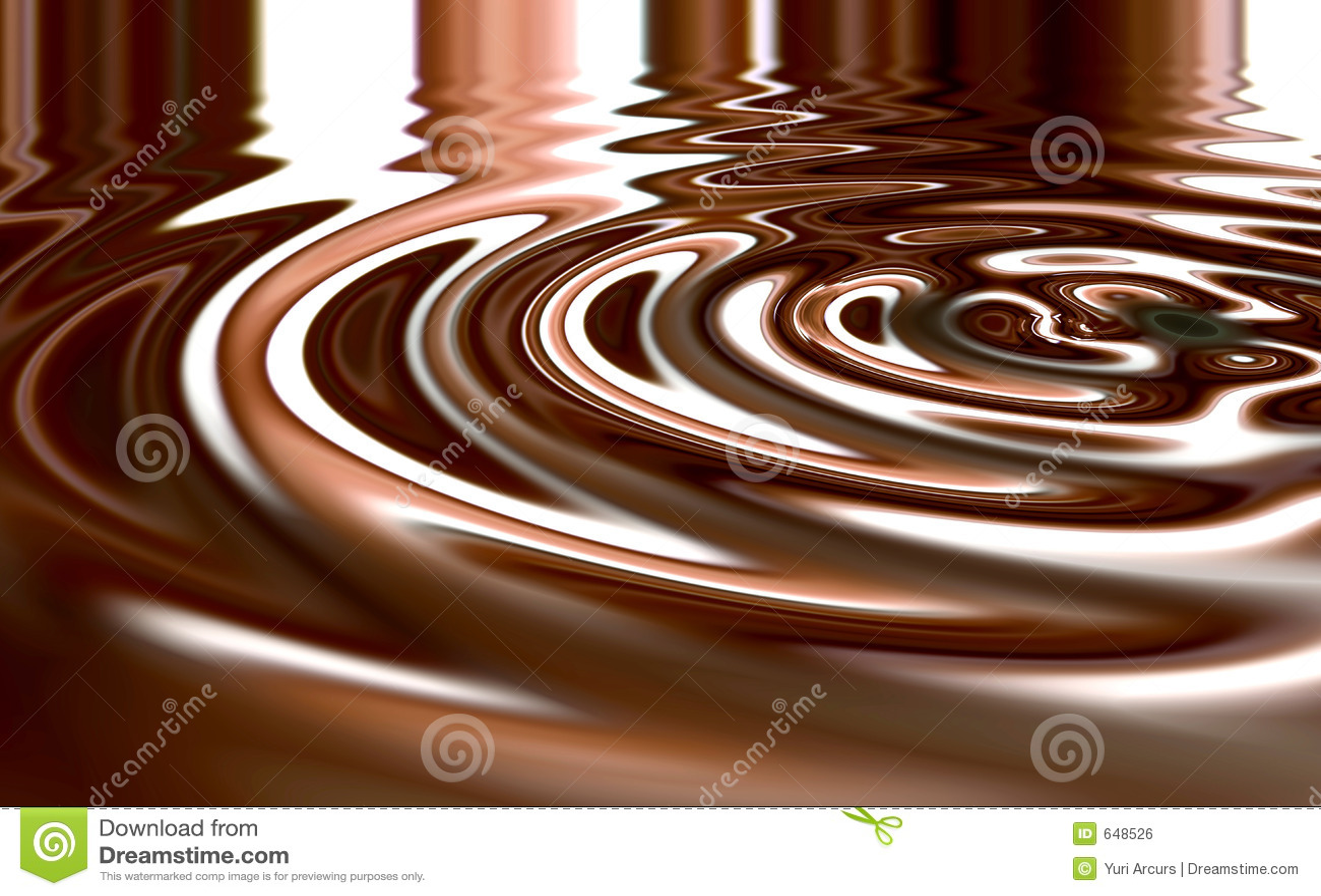 Animated Chocolate Waves Stock Photo Image Of Choco Lava