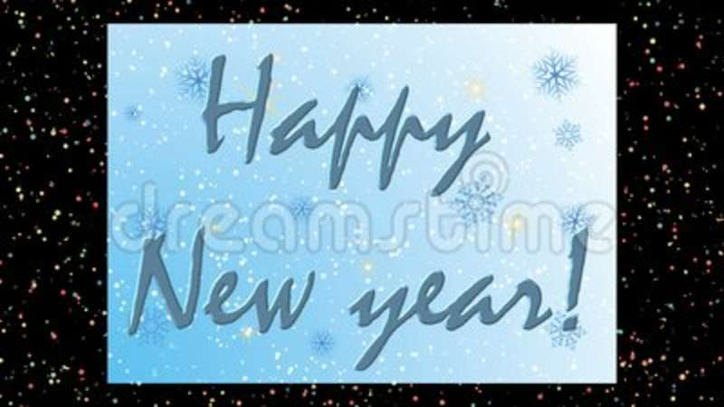 animated new years beautiful screen saver stock video video of happy background 124038927