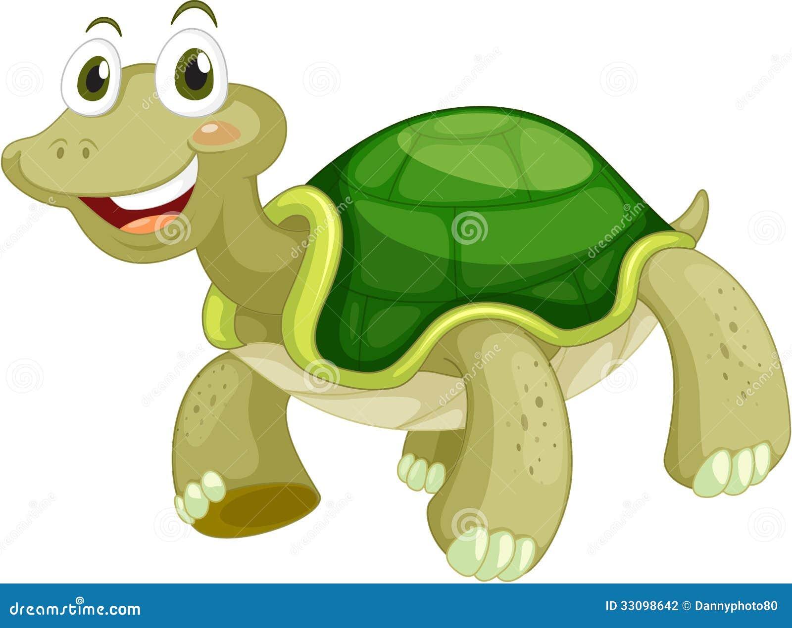 Animated Turtle Stock Photography Image 33098642