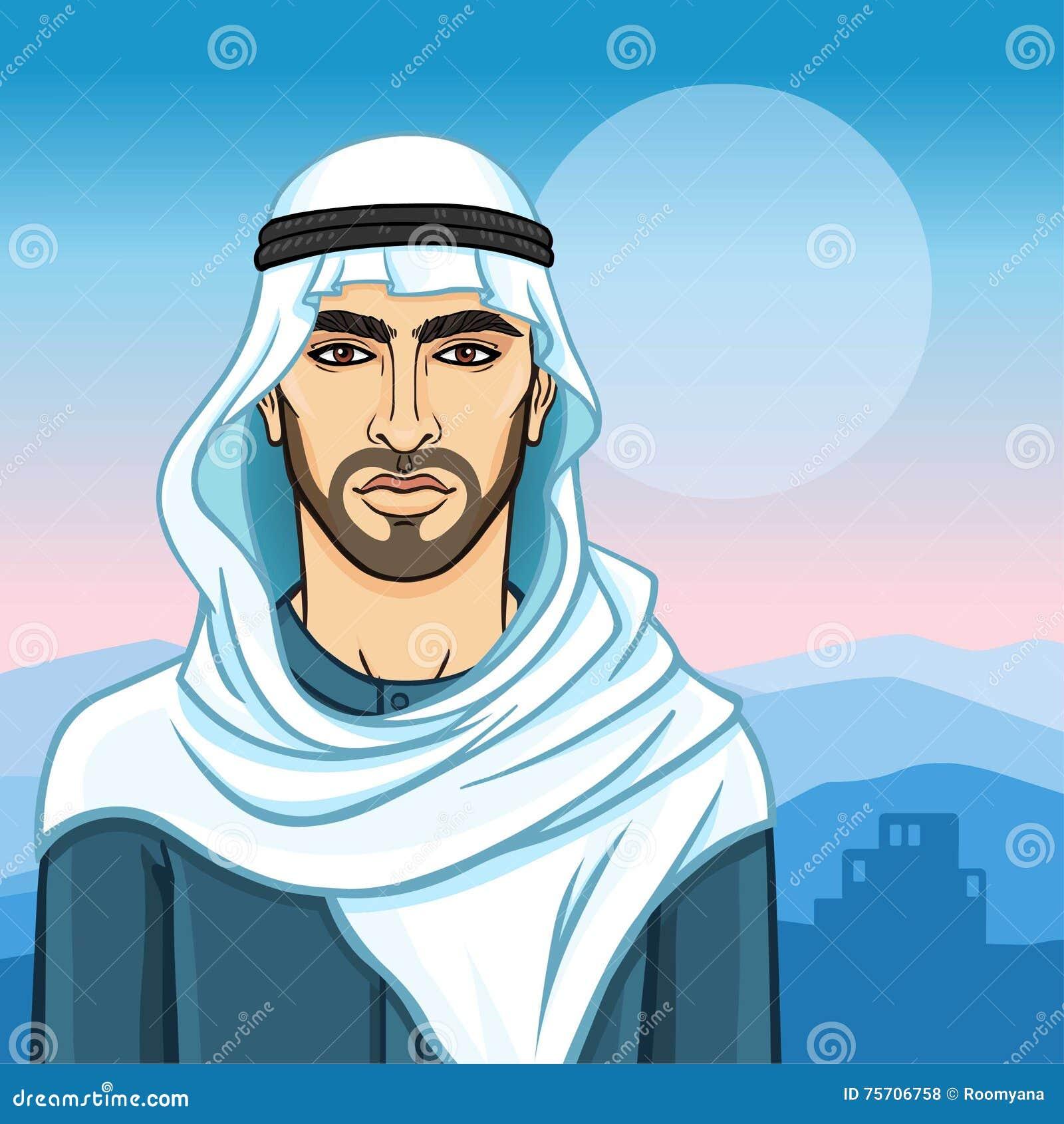 Muslim single men in blue mountain