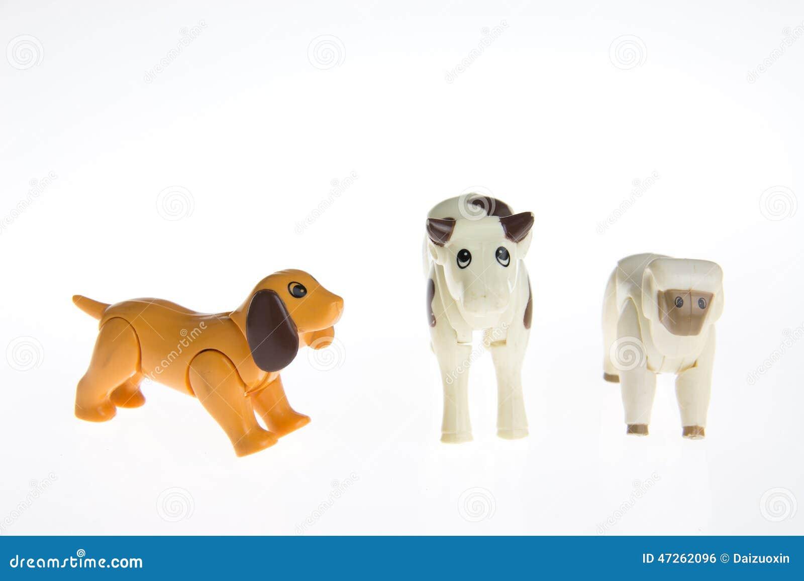 animaux de ferme en plastique de jouet photo stock image. Black Bedroom Furniture Sets. Home Design Ideas