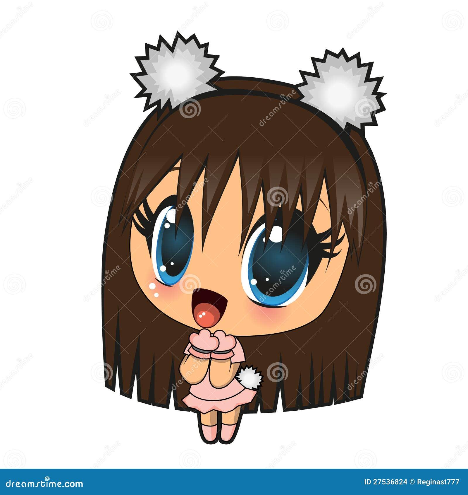 Anime dziewczyna