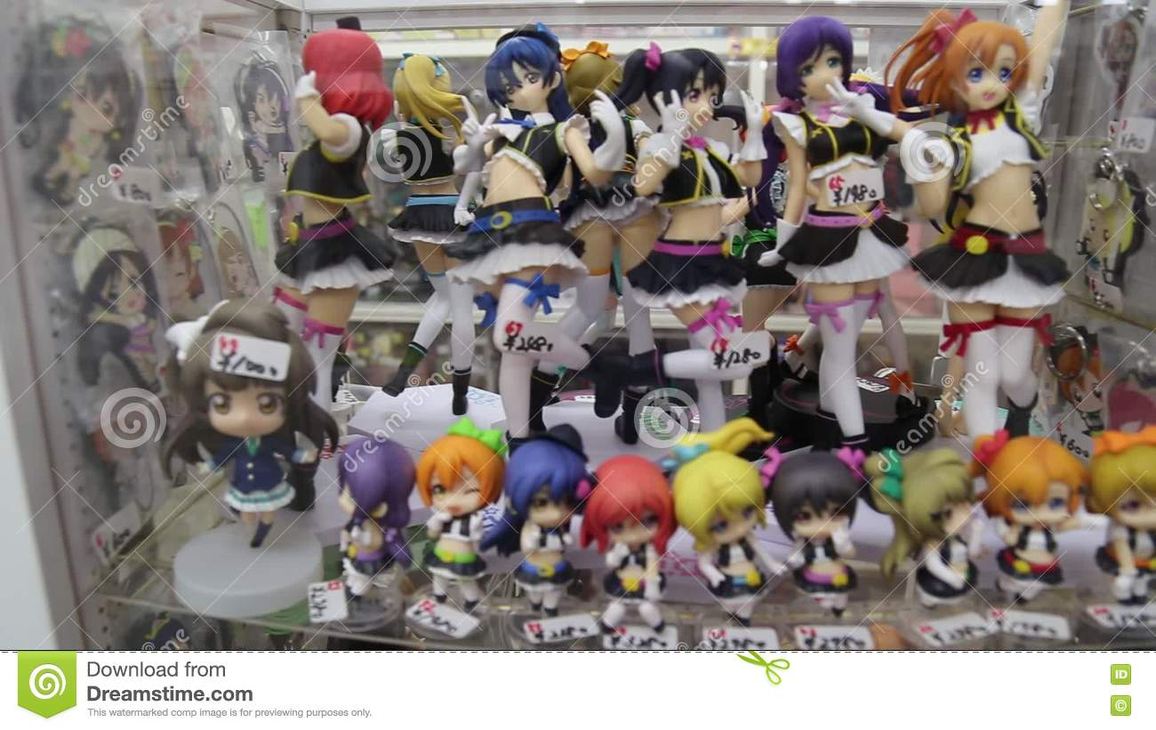 Anime Toys In Tokyo Stock Footage Video Of Japan Tokyo 77311026