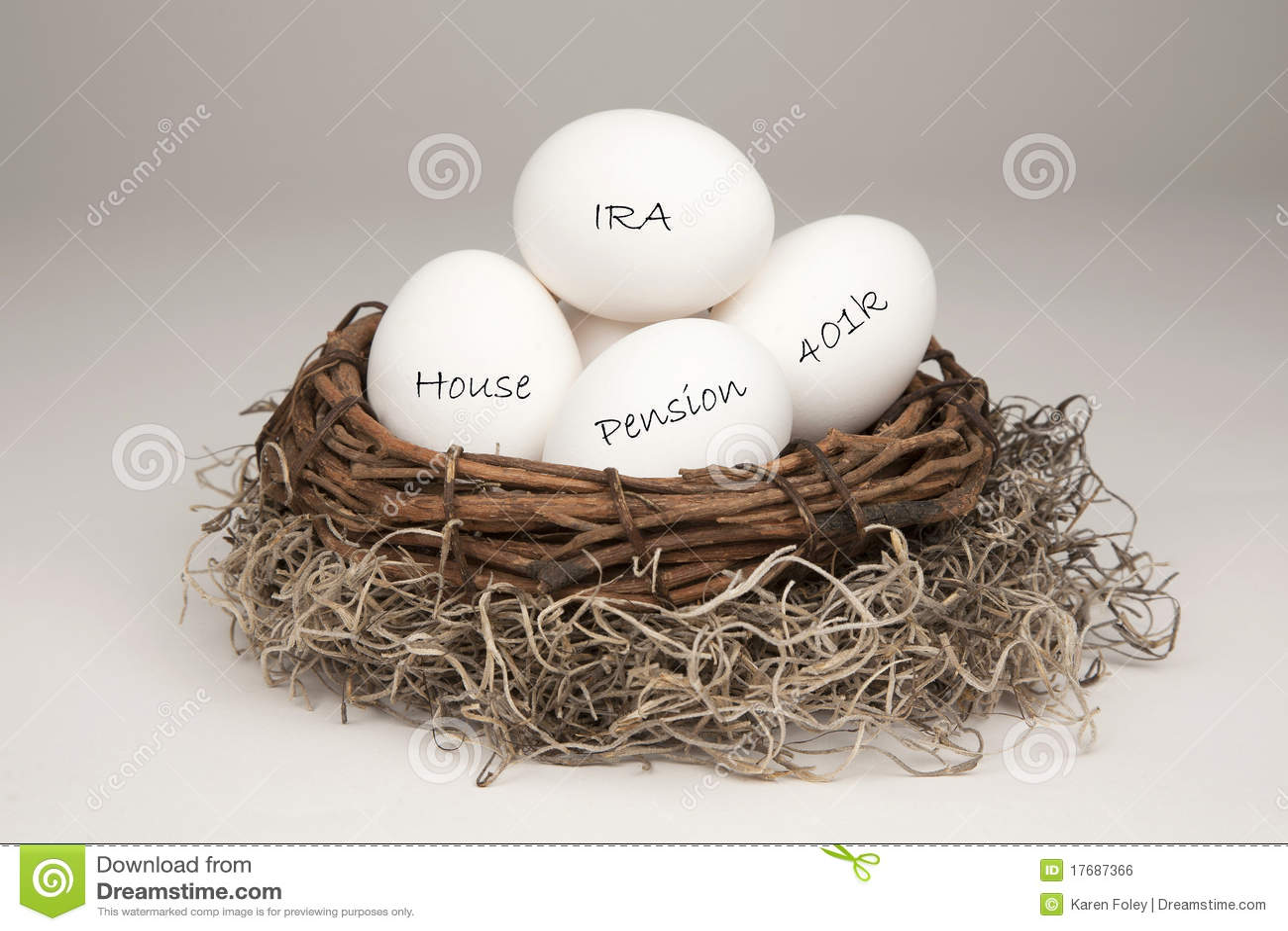 Aninhe a clara de ovos