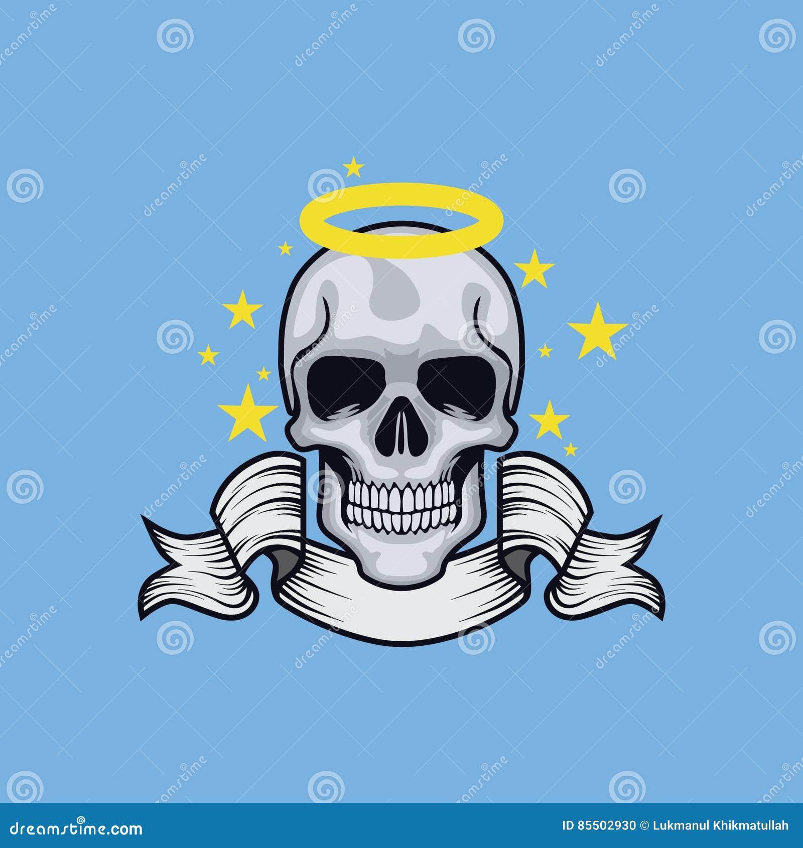Anioł kierownicza czaszka