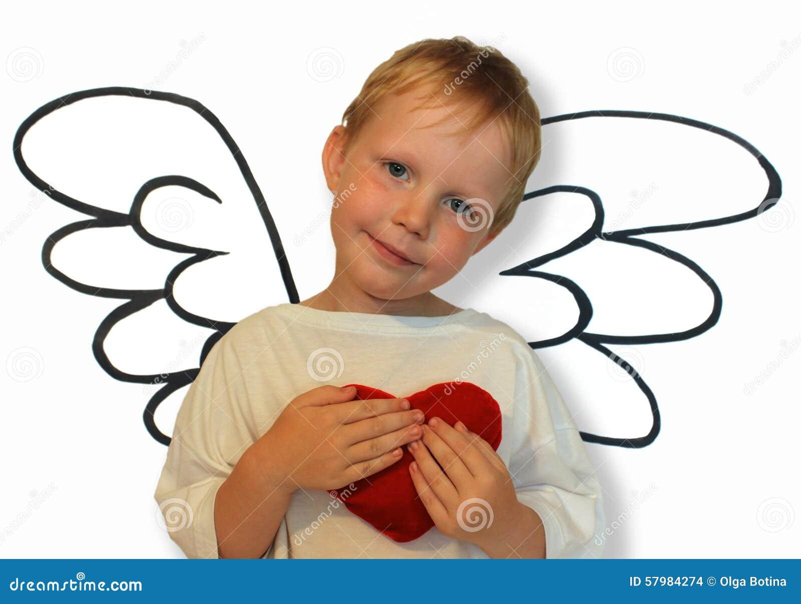 Anioł z sercem