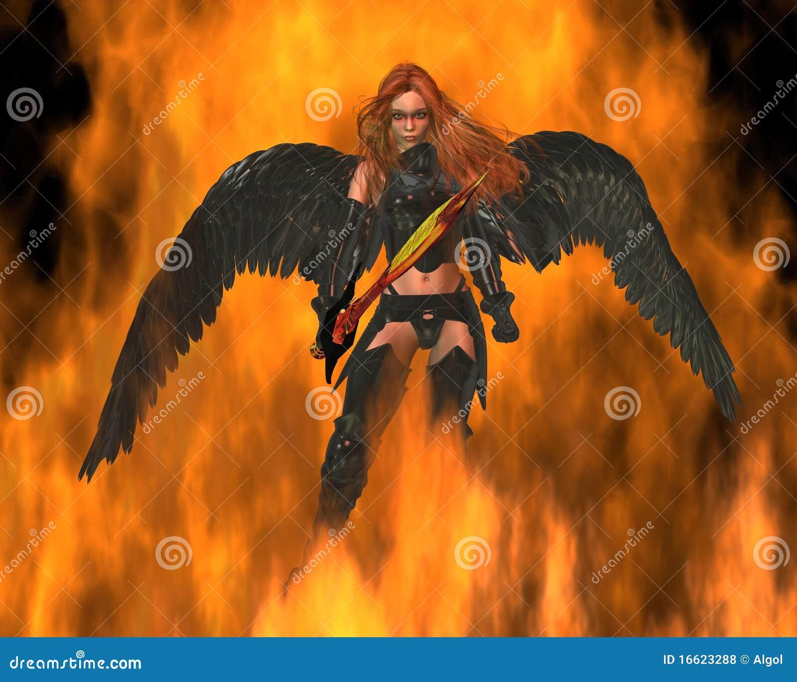 Anioła ogień