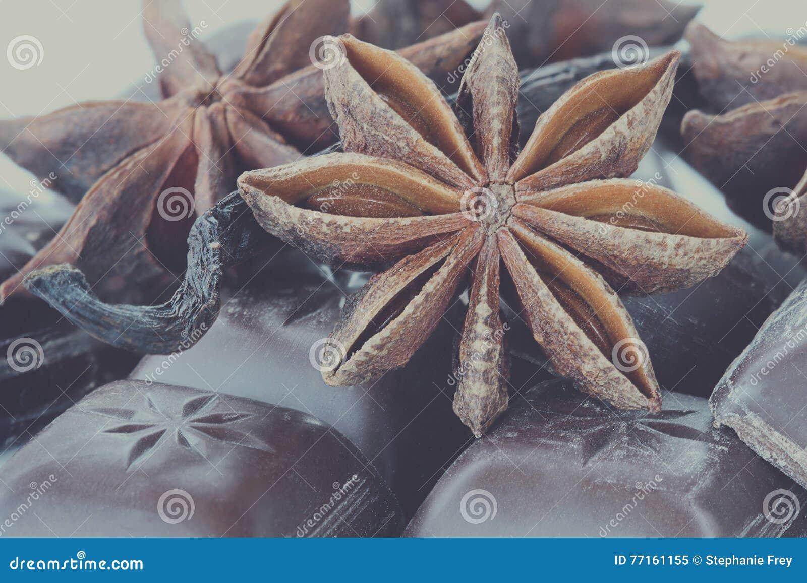 Anis, chocolat et vanille