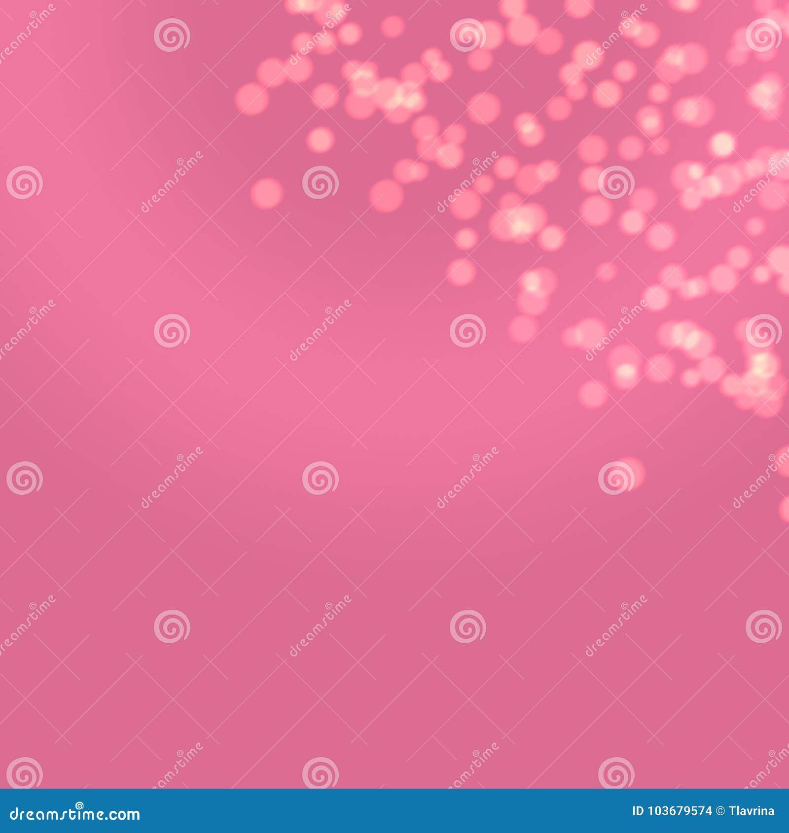 Aniversário dourado Bokeh Art Wallpa das mulheres da forma contínua roxa cor-de-rosa