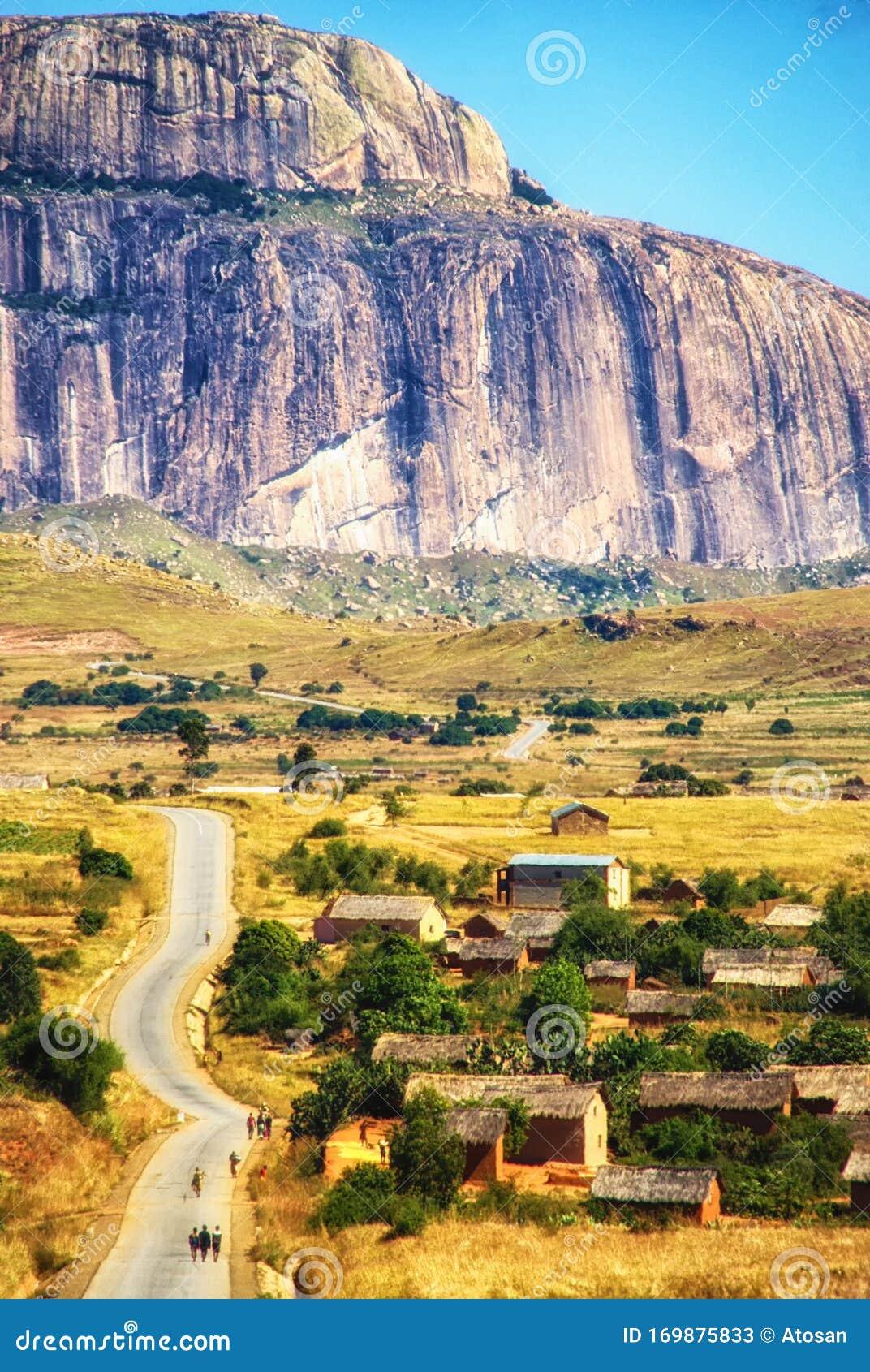 Anja Community Reserve Haute Matsiatra Region Madagascar Africa Stock Image Image Of Cereal Lake 169875833