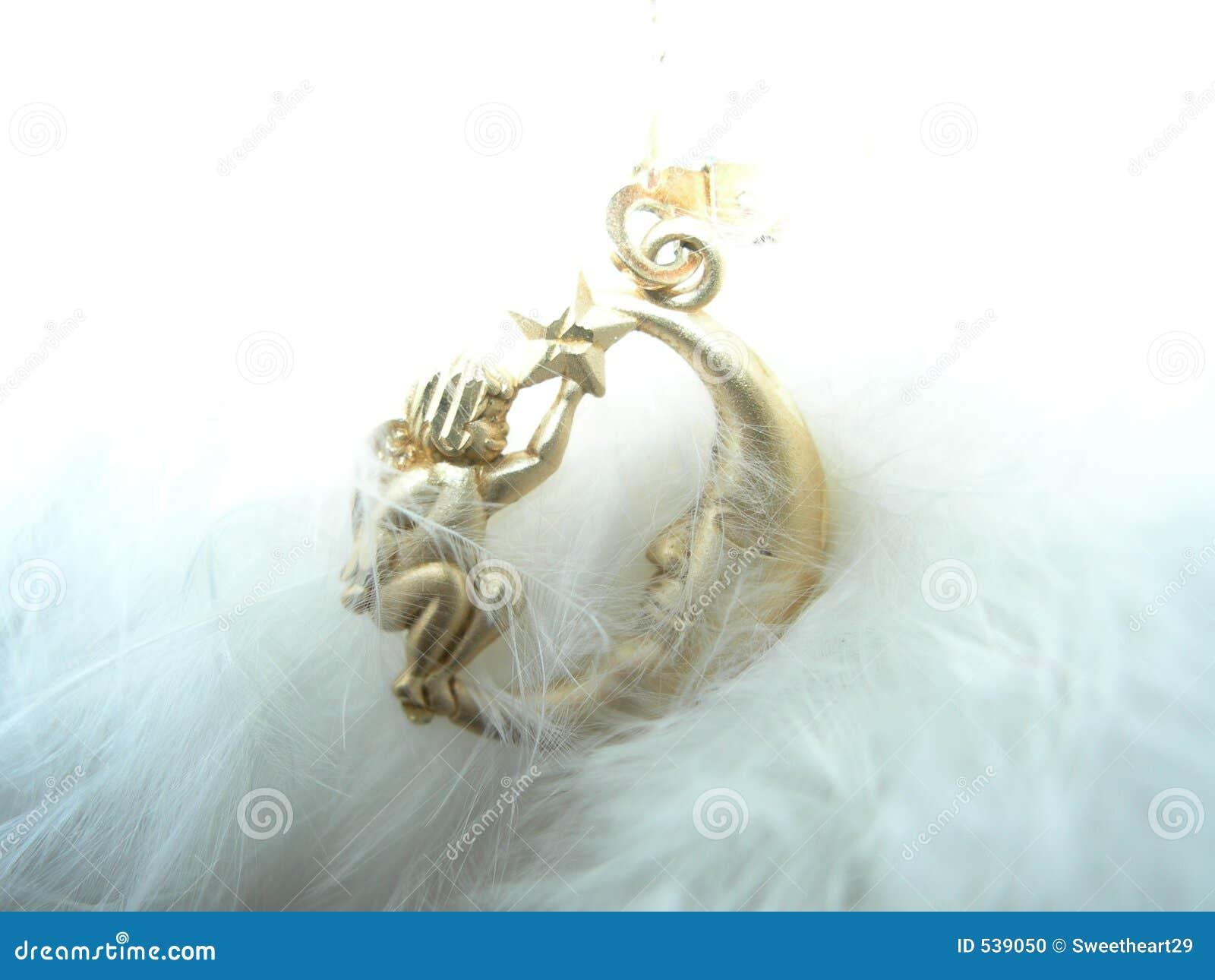 Anjo e encanto da lua