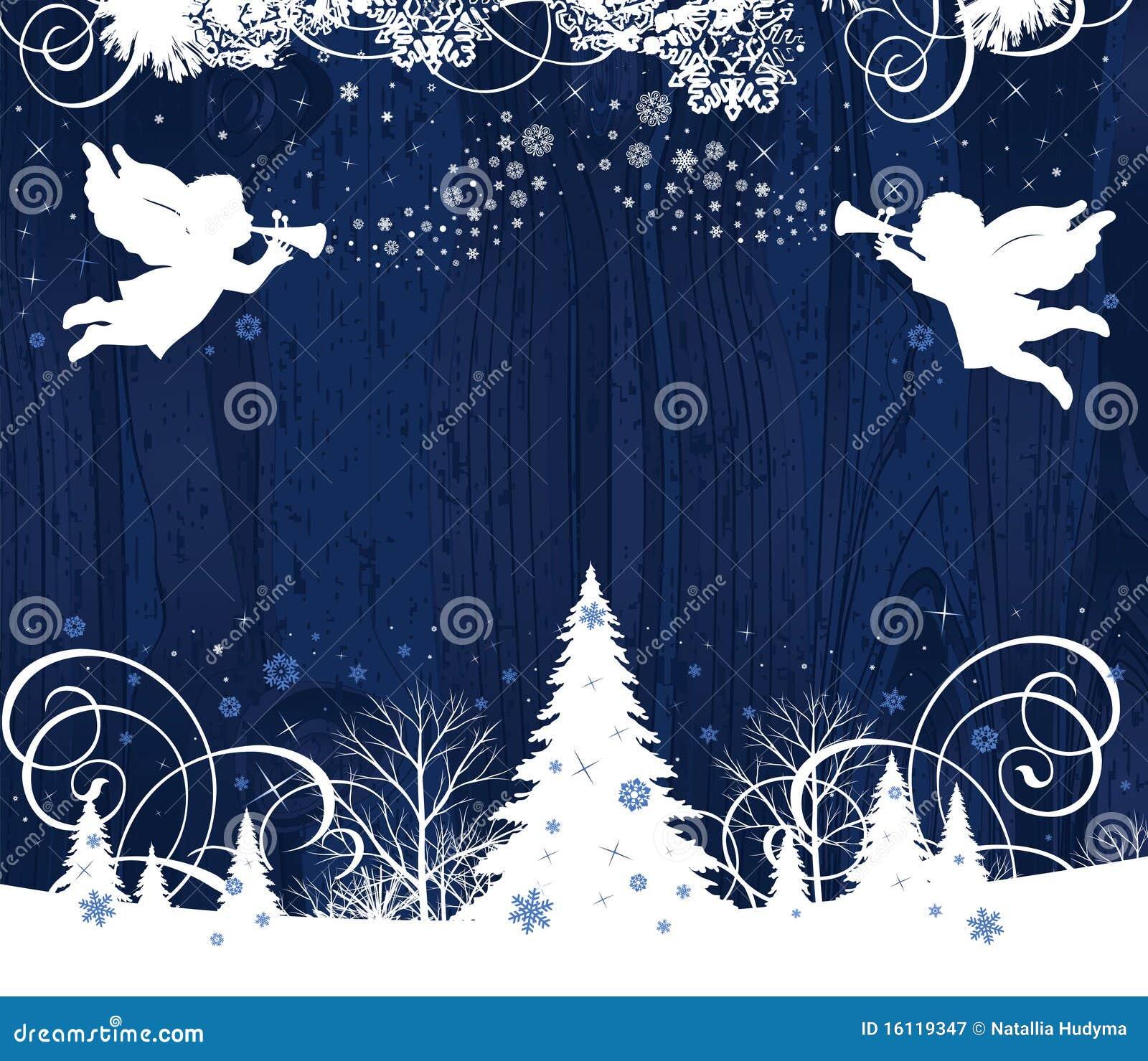 Anjos do Natal.
