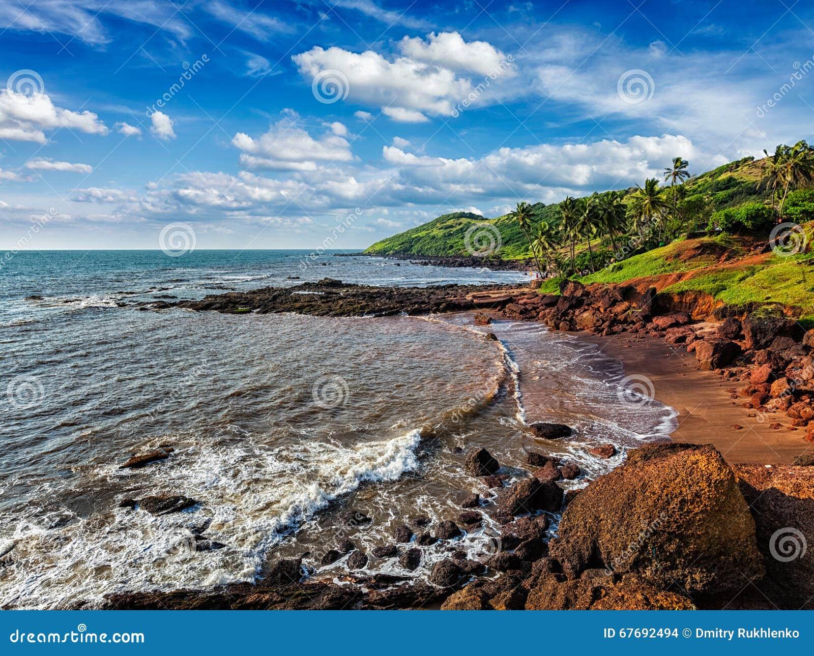 Anjuna plaża, Goa
