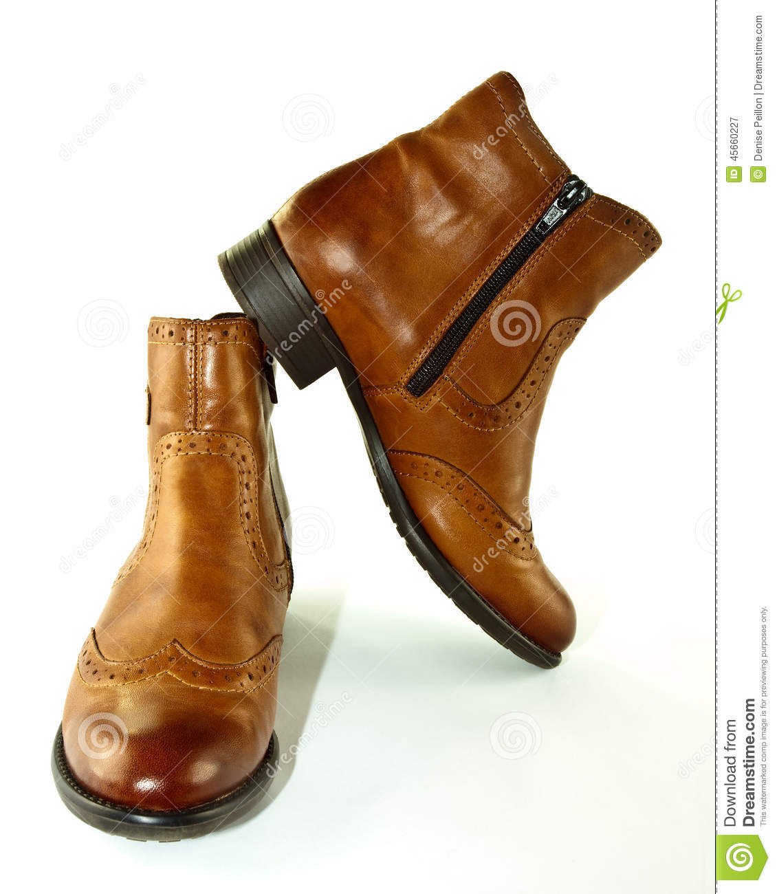 Ankle Boots Stock Photo - Image: 45660227