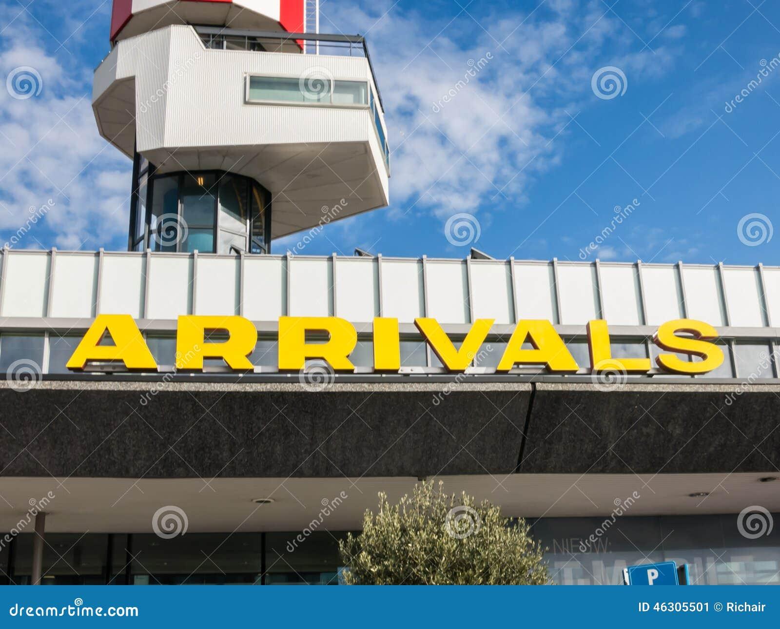 Ankomster på flygplatsen