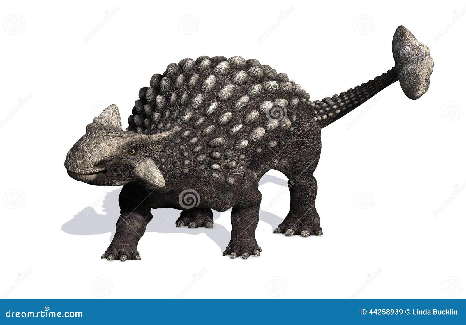 The Ankylosaurus dinosaur lived during the Cretaceous period - 3D ...