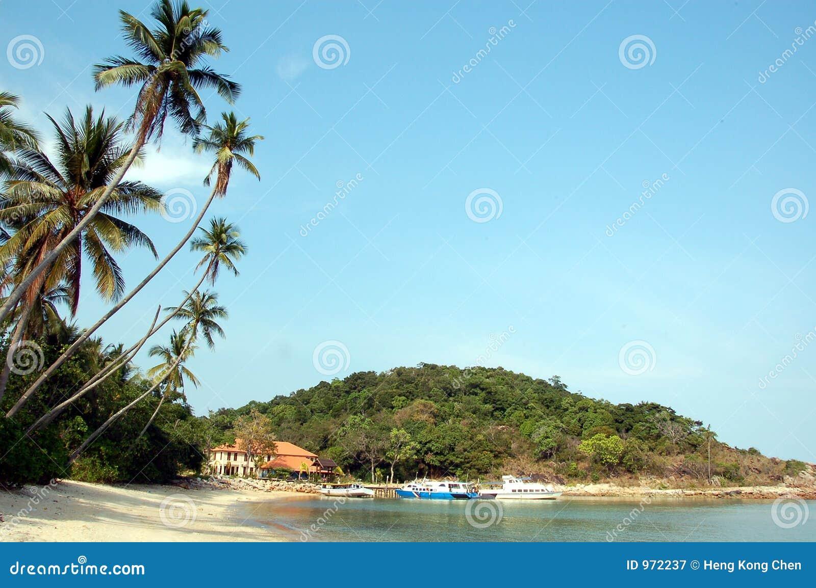 Anlegestelle der Inselrücksortierung