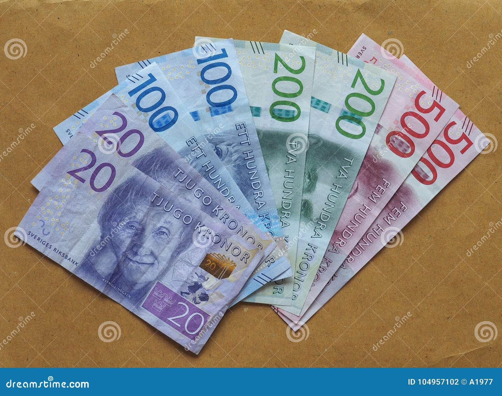 sverige valuta
