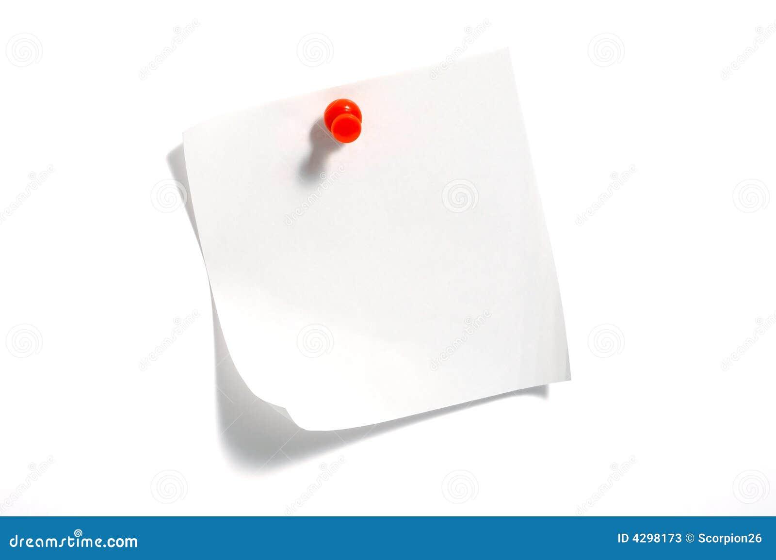 Anmerkungs-Papier