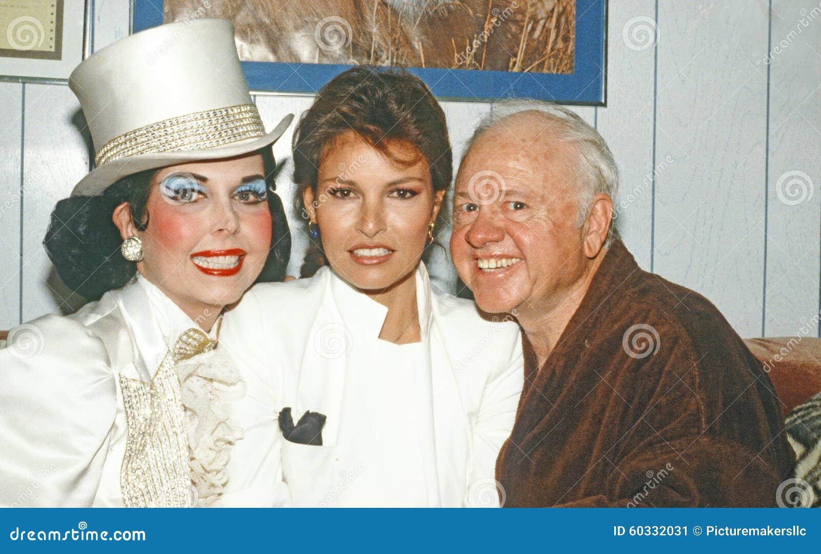 Ann Miller, Raquel Welch och Mickey Rooney