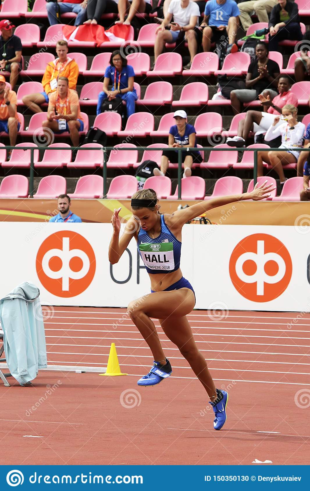 ANNA HALL USA, amerikansk friidrottidrottsman nen p? heptathlonh?ndelse i IAAF-v?rlden U20