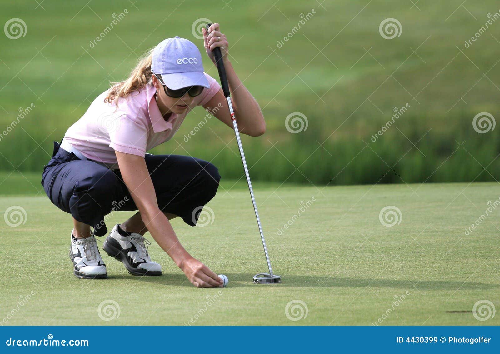 Anna Rawson, de Europese Reis van de Dames van het golf