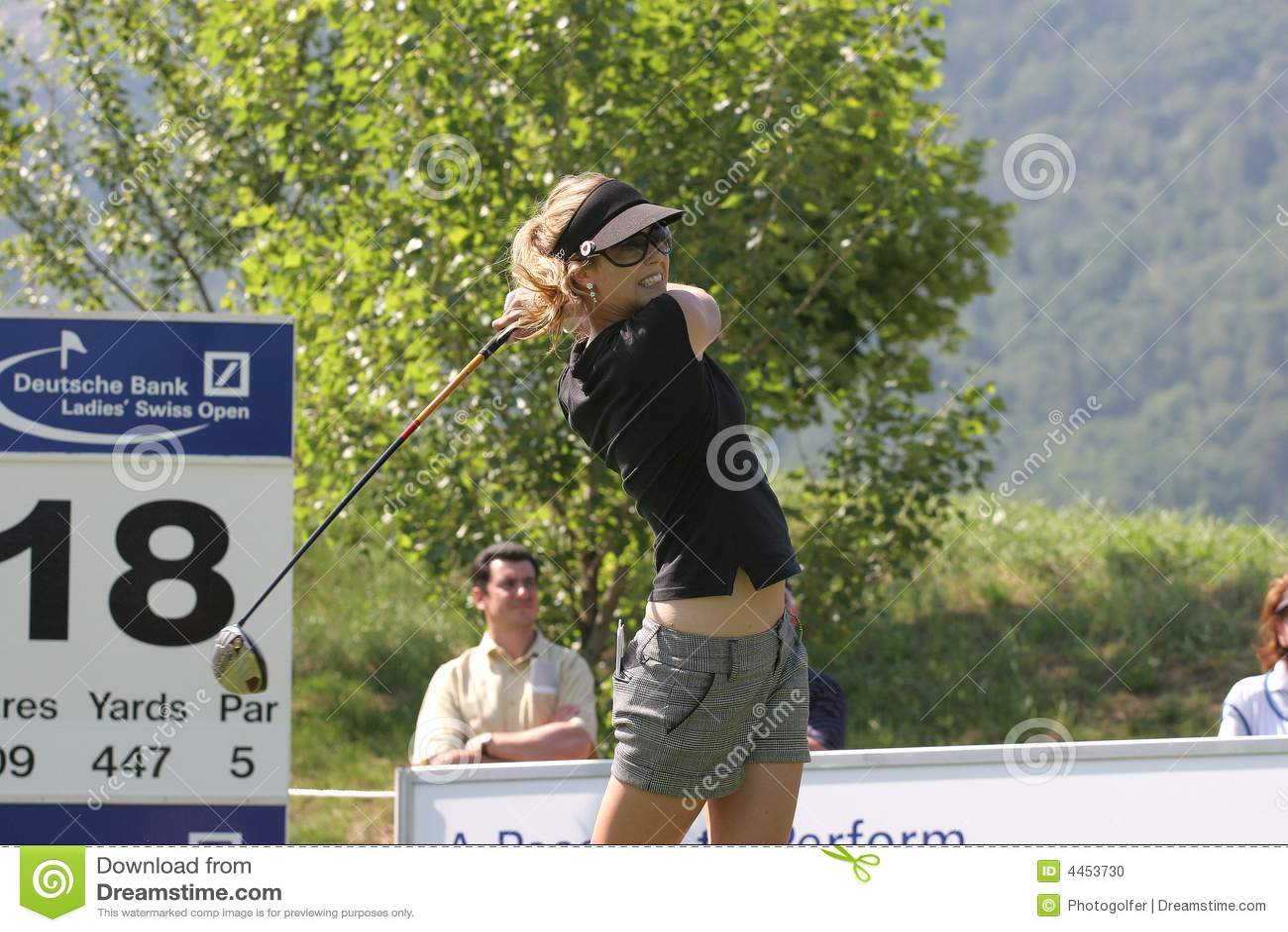 Anna Rawson, Golf Swiss Open, Losone, 2007