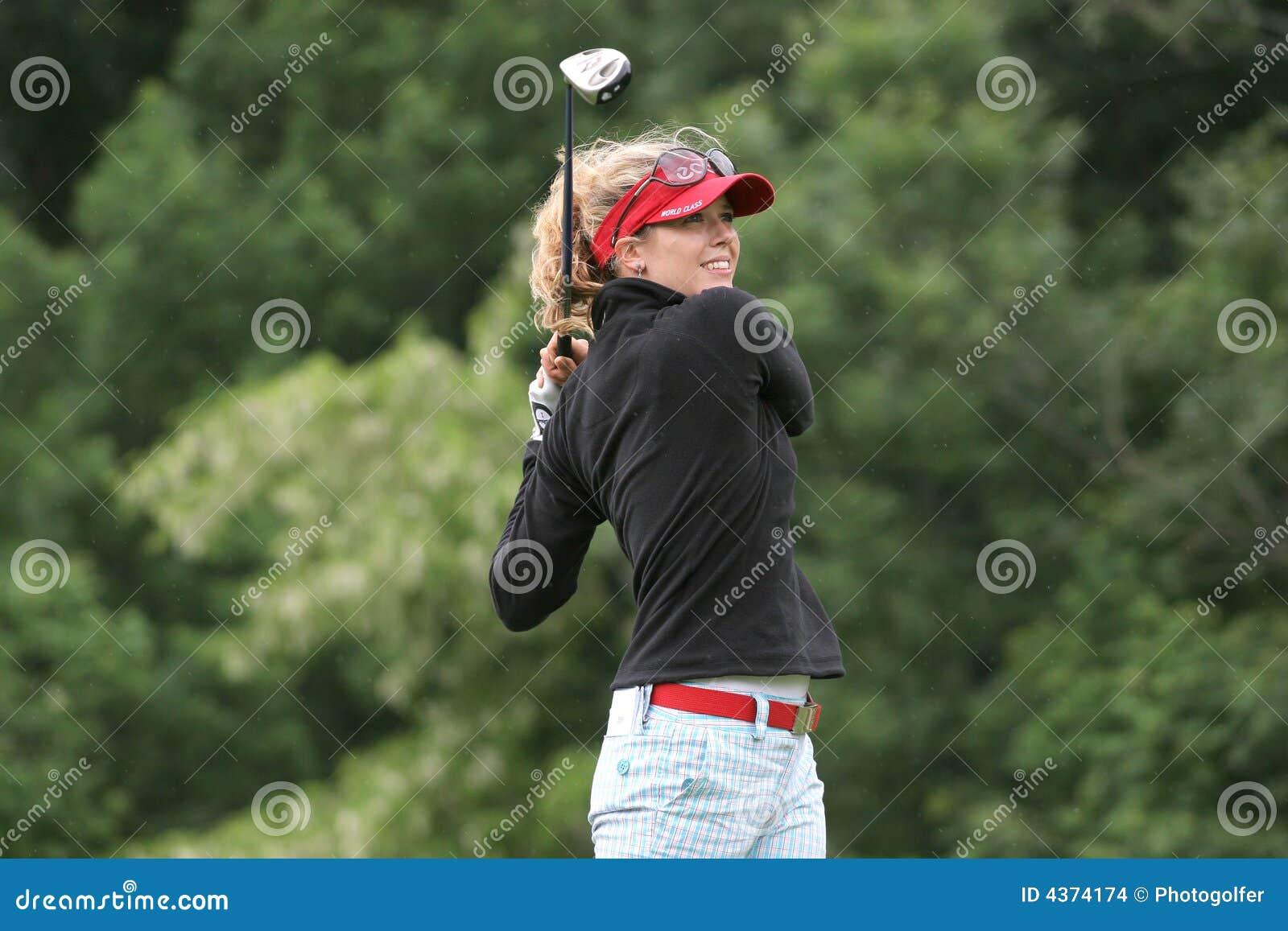 Anna Rawson, Losone 2007, Golf Ladies european