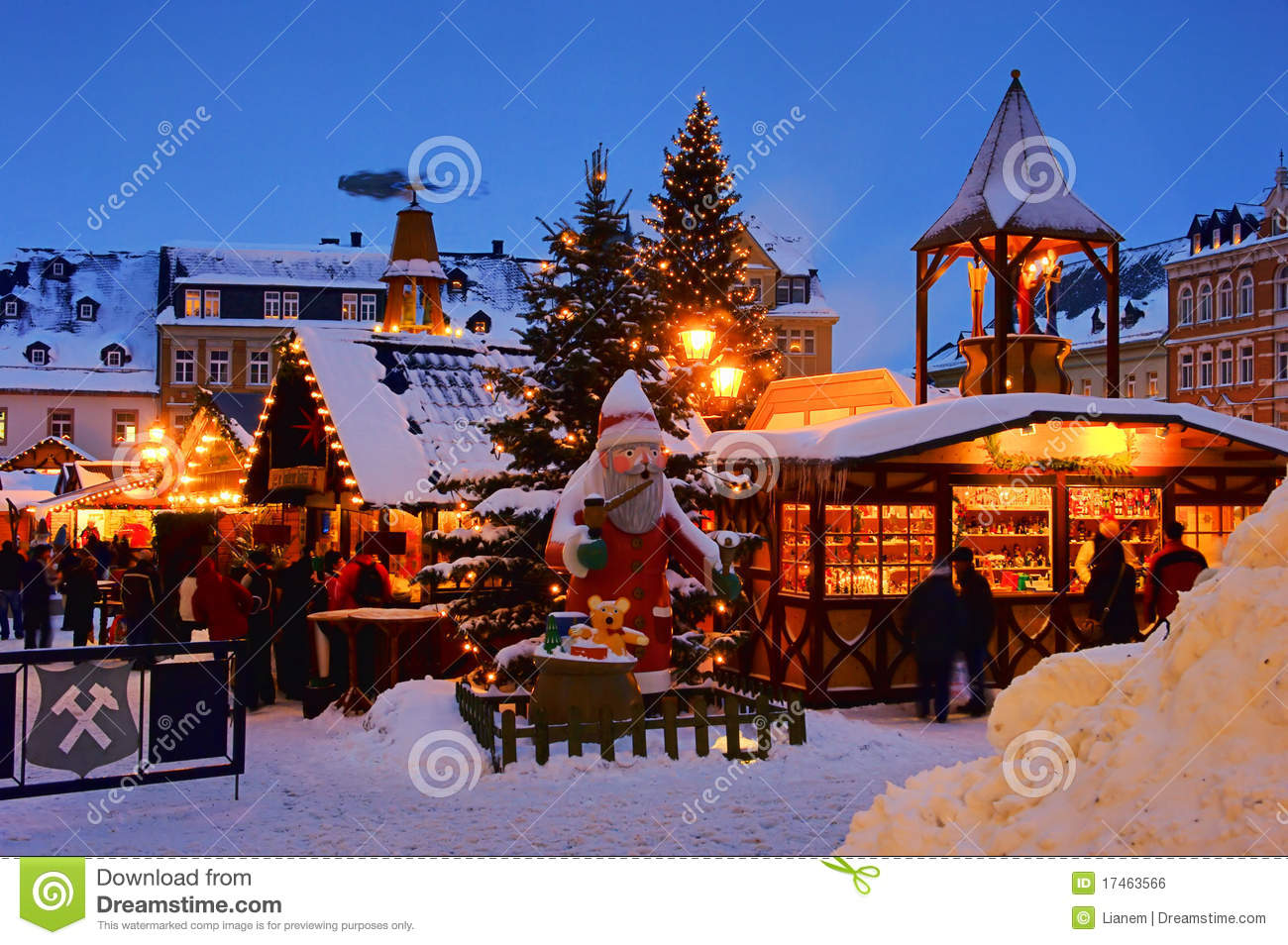 annaberg buchholz weihnachtsmarkt stockfoto bild von. Black Bedroom Furniture Sets. Home Design Ideas