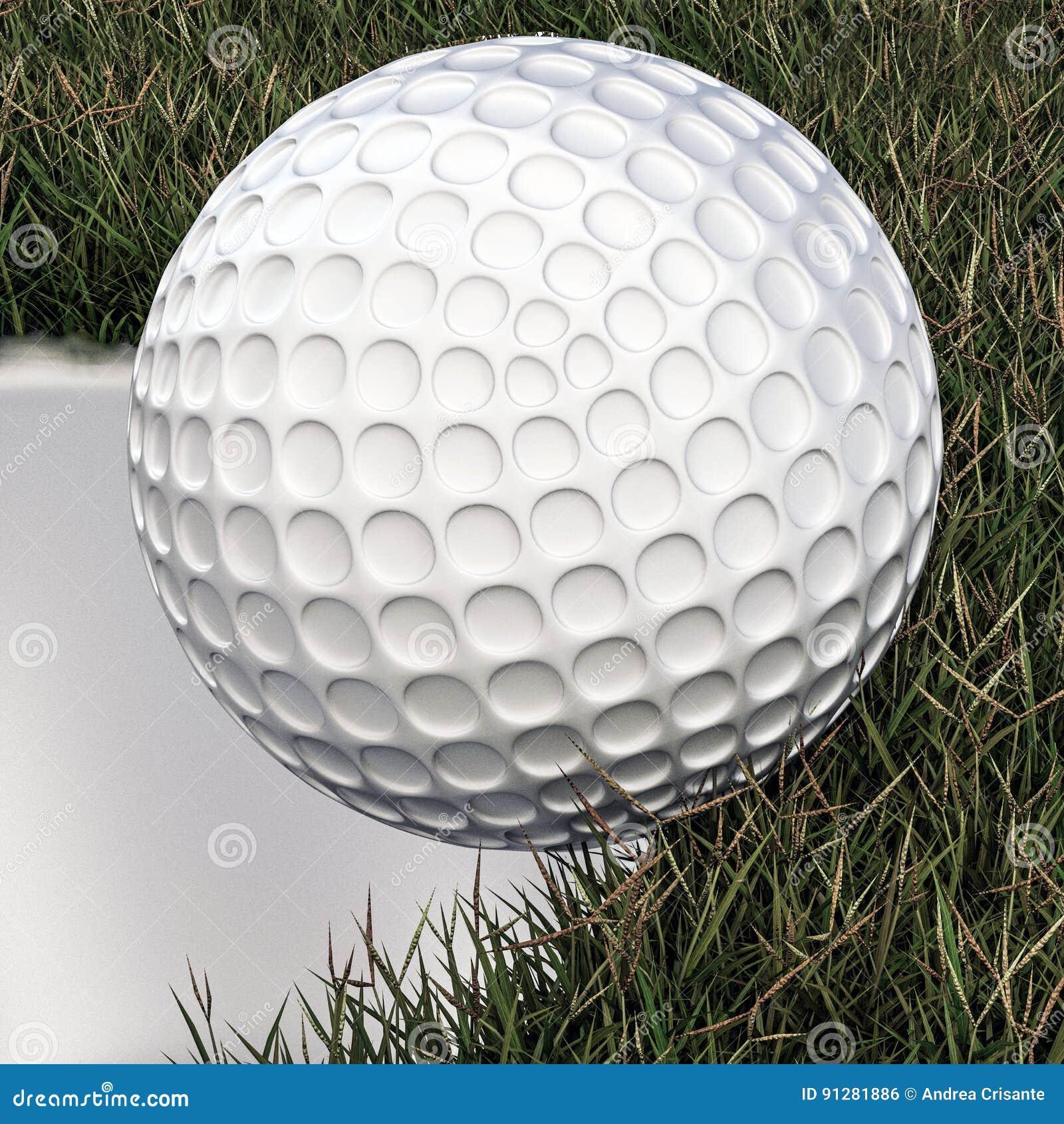 Annalkande hål för golfboll