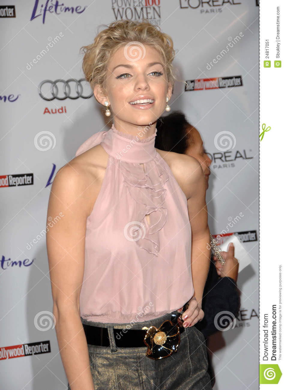 AnnaLynn McCord At The Hollywood Reporter's Annual Women ...