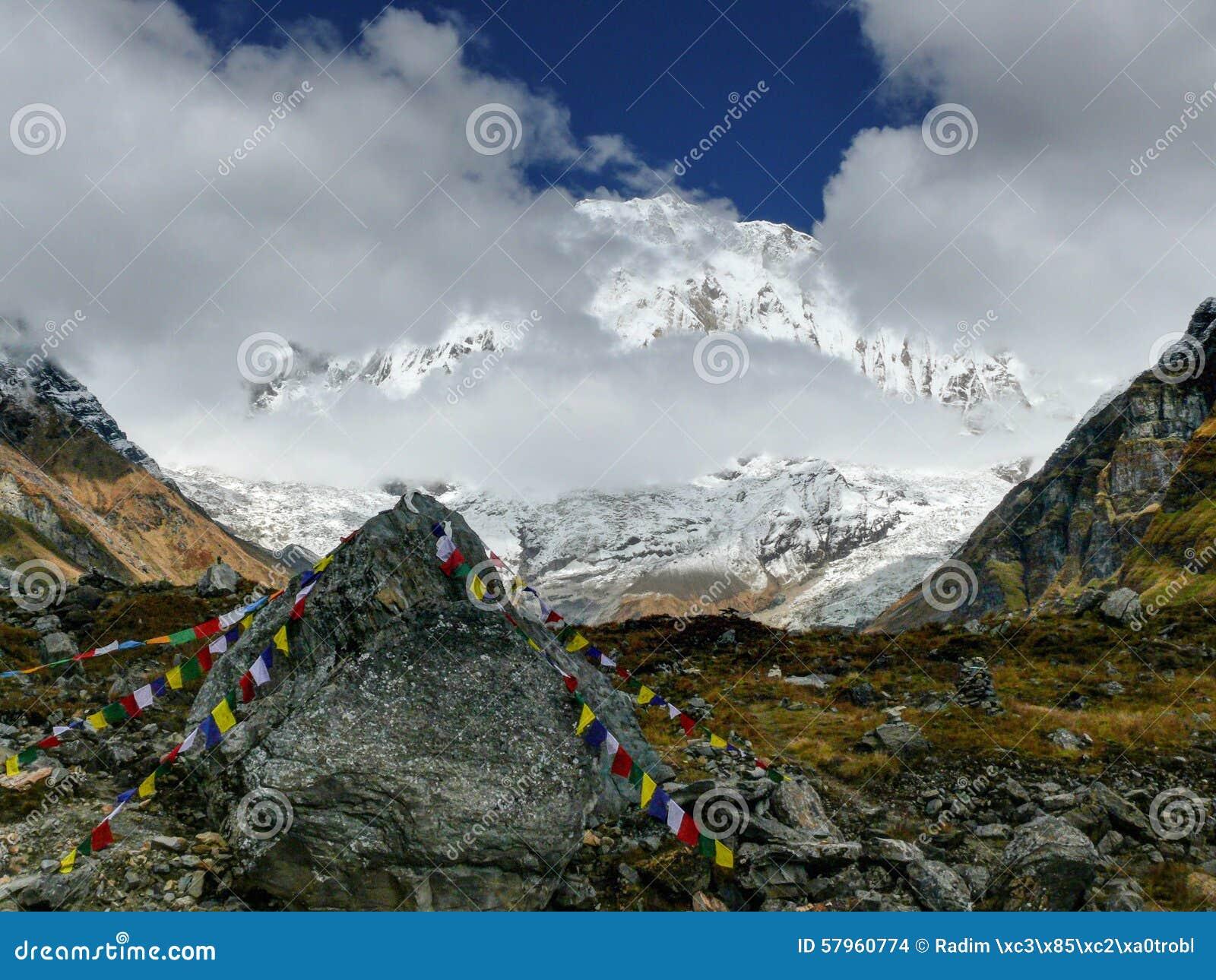 Annapurna I from Annapurna Base Camp