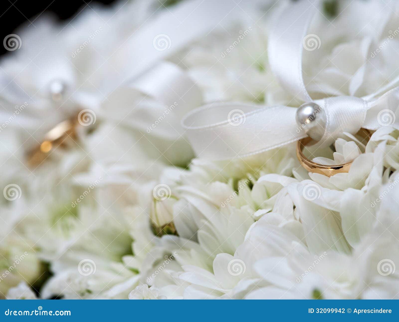 Anneaux De Mariage Photographie stock - Image: 32099942