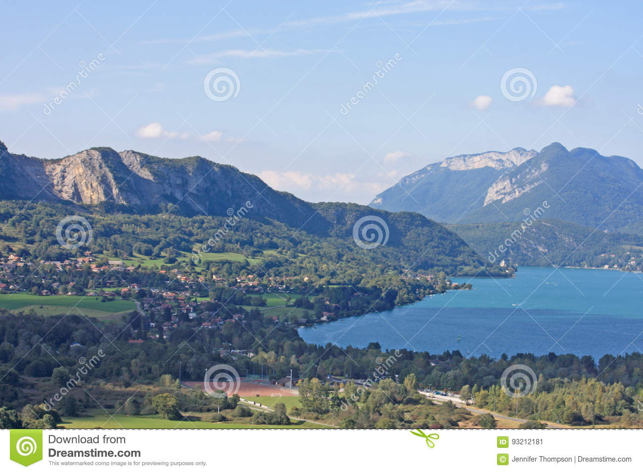 Annecy france lake