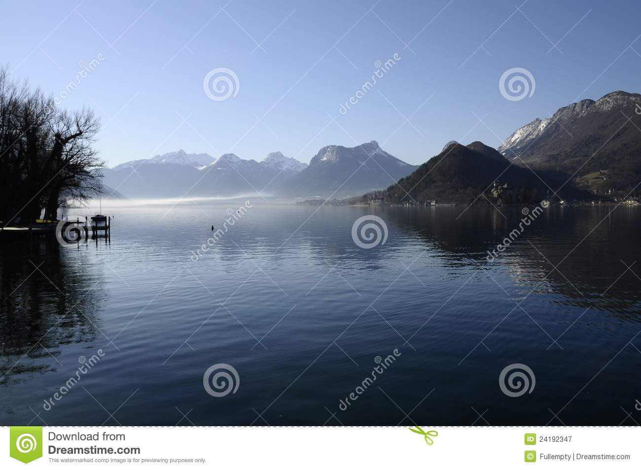 Annecy lake from Talloires