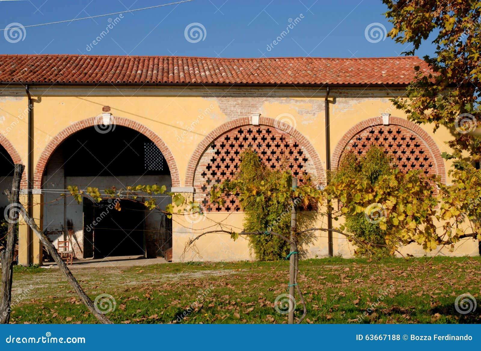 Annesso Rustico Di Una Casa Di Campagna Nella Provincia Di Casa Design
