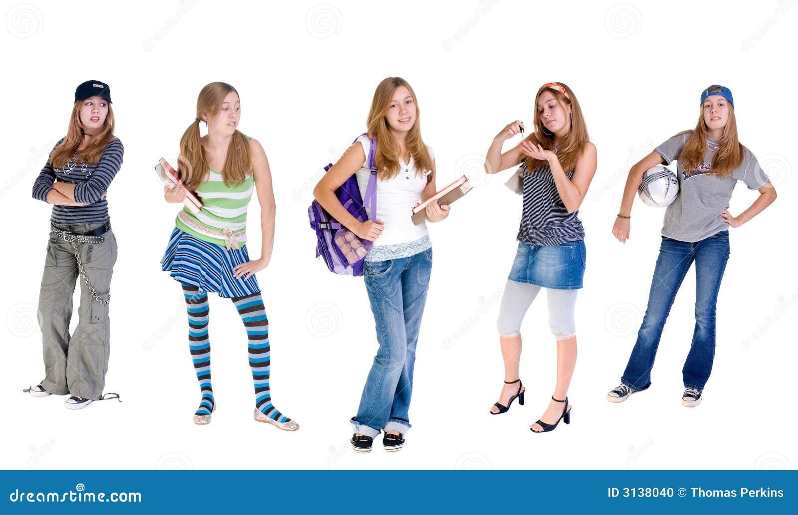 Anni dell adolescenza cangianti