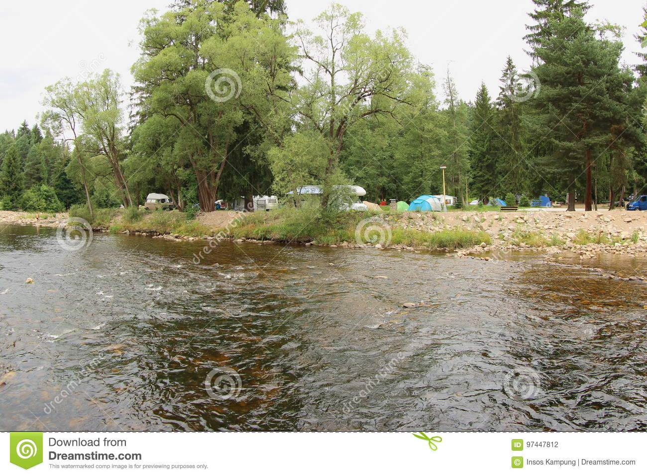 Annin Camping Site, Czech Republic