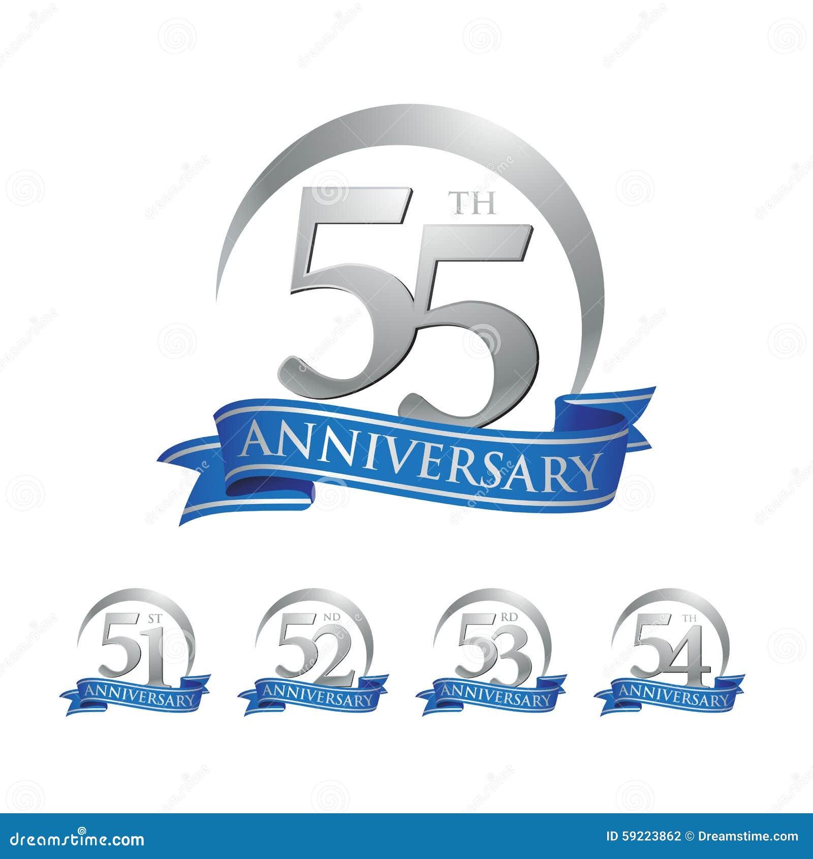 55th Wedding Anniversary Symbol