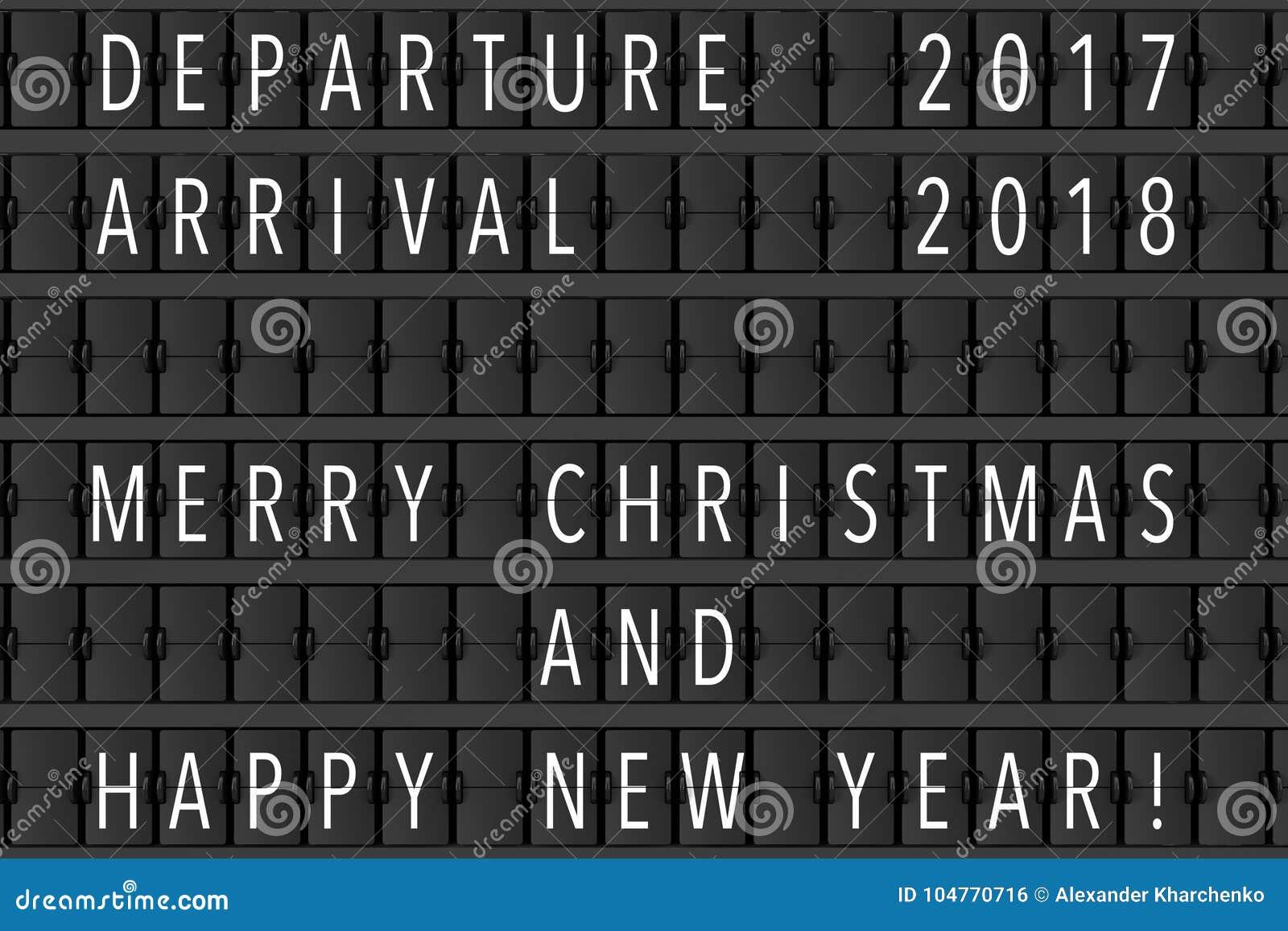 Annonce Flip Mechanical Timetable d aéroport avec Hapy joyeux C